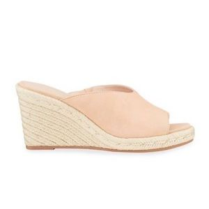 Stuart Weitzman NEW Wonda Suede Slide Wedges